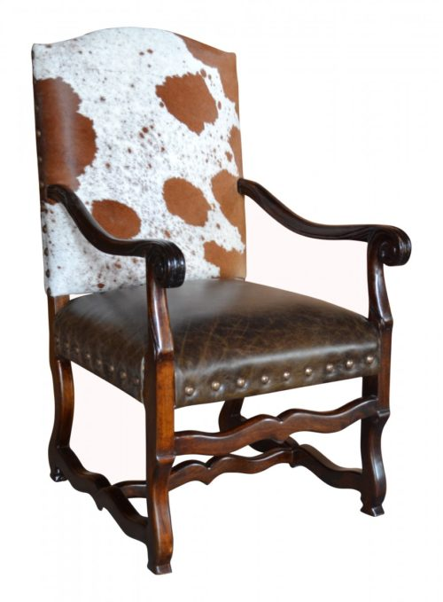 Colton Cowhide Dining Chair John Proffitt